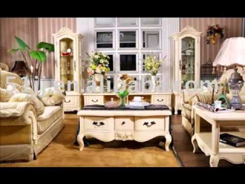 & DIY French country living room decorating ideas - YouTube