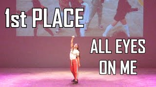 [1st PLACE] HOYA (호야) - All Eyes On Me - Dance Cover @ 8th Kpop Contest Italia