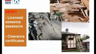 Asbestos changes in the 2012 NSW Work Health & Safety Laws