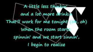 You look better when im drunk White Tie Affair With lyrics