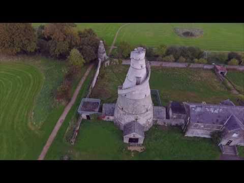 Ireland drone footage Wonderful Barn...