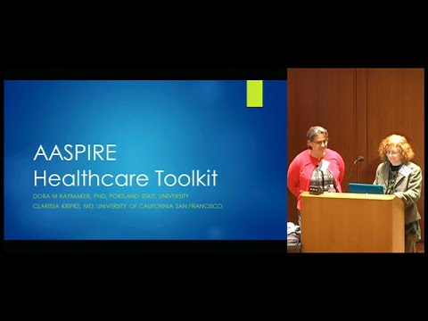 The AASPIRE Healthcare Toolkit - Primary Care for Adults on the Autism Spectrum