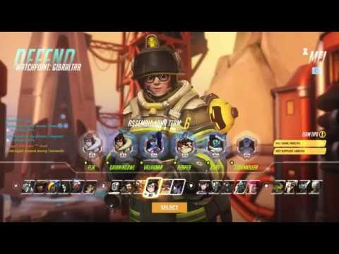 Overwatch - 6 Defense Roles Protect Gibraltar