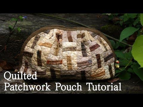 [퀼트파우치]Hand-Quilted Patchwork Pouch Tutorial I Yoko Saito להורדה