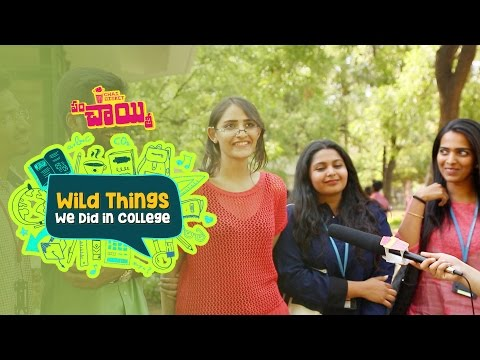 Wildest Thing Ever Done In College | Chai Bisket Panchaiyiti | Vasavi Engineering College