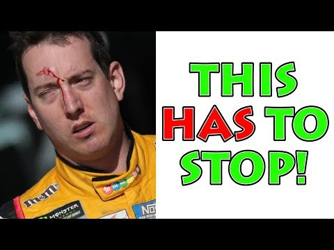 "NASCAR ""FAN"" ATTACKS KYLE BUSCH!"