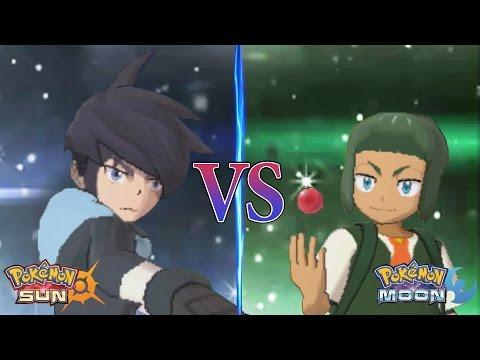 f56924ebaa4b Смотреть видео Pokemon Sun and Moon  Alain Vs Sawyer (Pokemon Multiverse)  онлайн