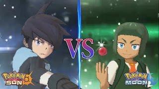 Pokemon Sun and Moon: Alain Vs Sawyer (Pokemon Multiverse)