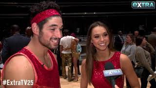 Would Alexis Ren & Alan Bersten Seal a 'DWTS' Victory with a Kiss?