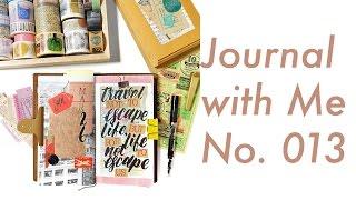 Journal with Me No. 013 | Midori Traveler's Notebook