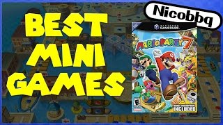 TOP 10 MARIO PARTY 7 MINIGAMES! - NicoBBQ