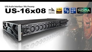 Tascam 16x08 Unboxing and First Impressions