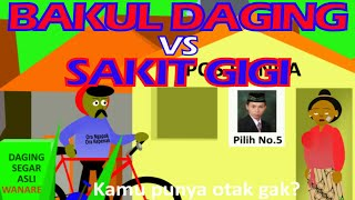 "Download Video Animasi Lucu Asli Ngapak Curanmor ""BAKUL DAGING VS SAKIT GIGI"" teks Indonesia (Andrian Javanese) MP3 3GP MP4"