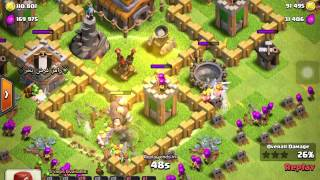 Clash of Clans Let's Play From The Start Episode 11: Grinding Out The Last Few Walls