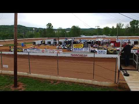 Lake Cumberland Speedway 4/27/19 hot laps Rod Carter Jr