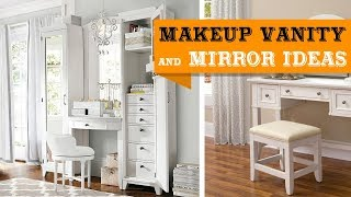 70+ Makeup Vanity and Mirror for Bedroom Furniture Ideas