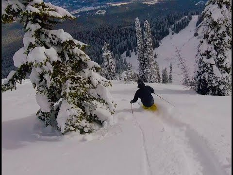 Epic Deep Powder Skiing Fernie BC 2018 - Fernie Alpine Resort