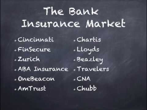 Bank Insurance For Insurance Agents