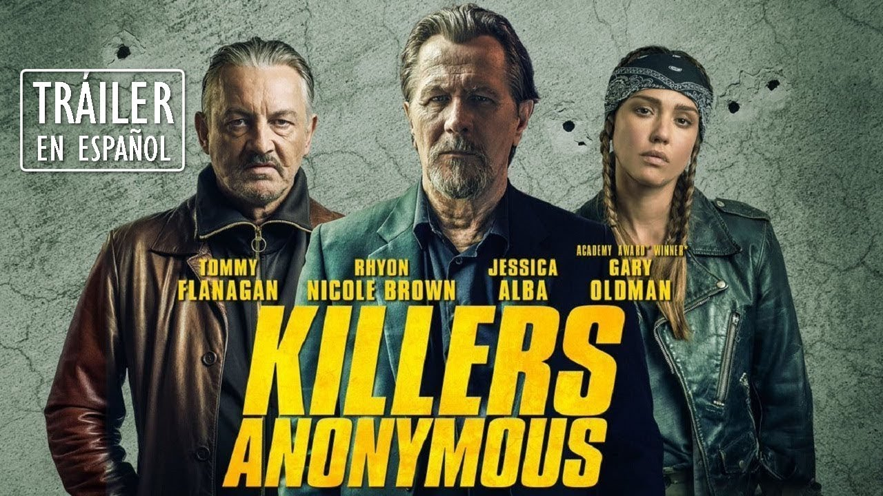 Killers Anonymous (Asesinos Anónimos) Trailer  2019 - SUBTITULADA EN ESPAÑOL -  FAN MADE