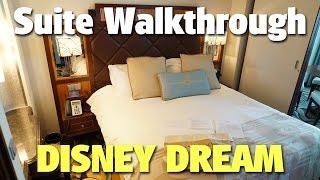 Concierge One Bedroom Suite with Verandah Walkthrough | Disney Dream