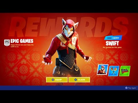 The *NEW* FREE CHINA REWARDS! (Fortnite Event)