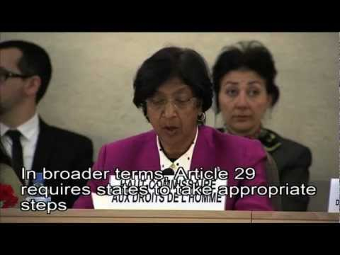 WorldLeadersTV: HUMAN RIGHTS for the DISABLED: UNITED NATIONS (OHCHR)