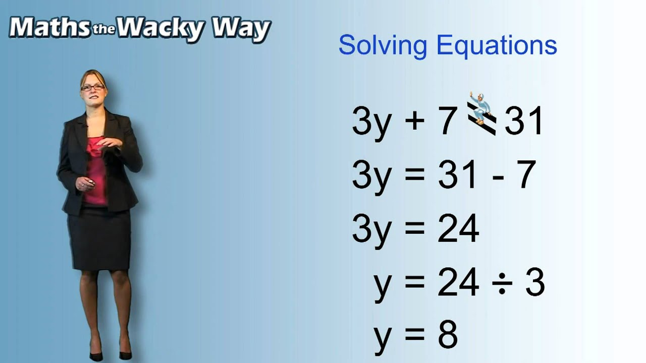 Maths the Wacky Way - Algebra - YouTube