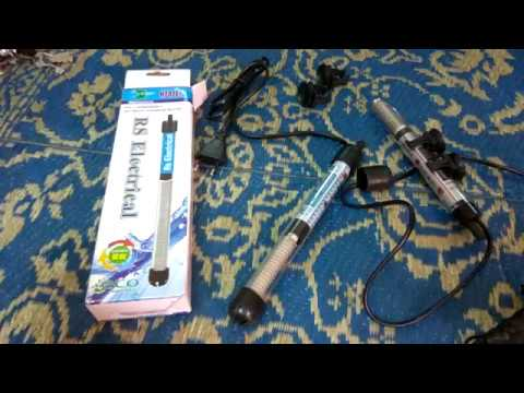 AUTOMATIC AQUARIUM HEATER FULL DETAILS [HINDI]