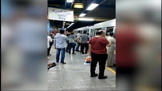 ازدحام بالخط الثاني للمترو في محطة الأوبرا بسبب عطل فني
