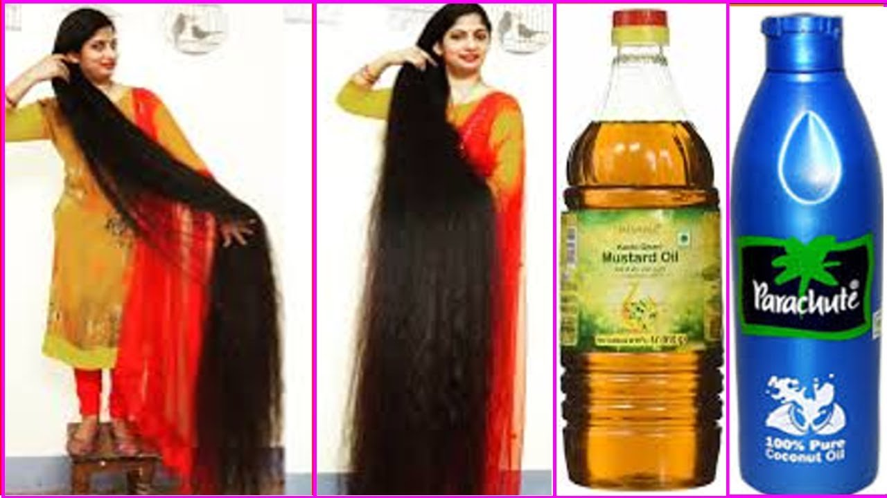 Download सरसों तेल में ये मिलाकर लगाया 4 दिनों में बाल इतने लंबे मोटे और घने हो गए / baal badhane ke upay
