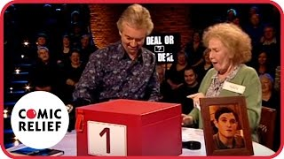 "Nan Taylor on ""Deal or No Deal"" - Classic Comic Relief"