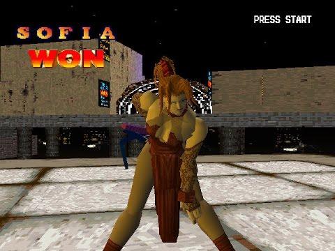 Battle Arena Toshinden 2 Ps1 Sofia 1p Game Playthrough Youtube