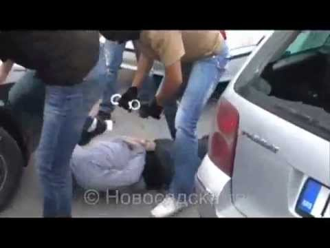 Arresting of arm robbers in SERBIA, Novi Sad - POLICE CHASE