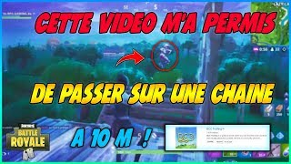 THIS VIDEO M'AS PERMIS OF PASSER ON A FORTNITE CHAINE To 10 M 😱