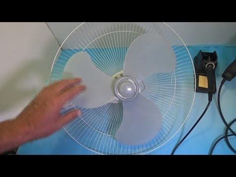 Как снять пропеллер с вентилятора