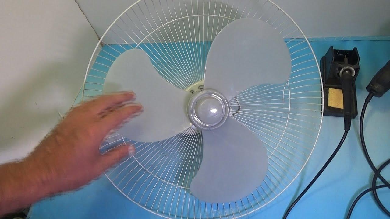 Ремонт вентилятора