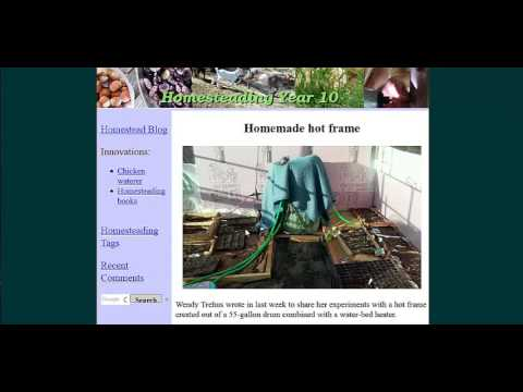 diy heated greenhouse floors made with waterbed heater