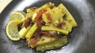 Kabak sevmeyen kalmasın !! En kolay zeytinyağlı kabak yemeği tarifi ♨️ Ev Lezzetleri