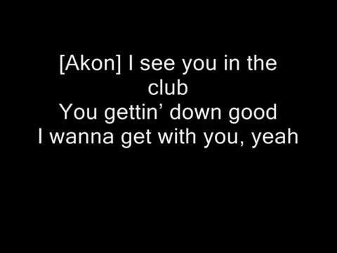 Akon feat. Dulce Maria-Beautiful (with lyrics)