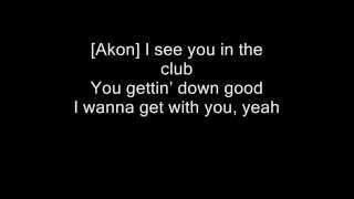 Akon feat. Dulce Maria-Beautiful (with lyrics)