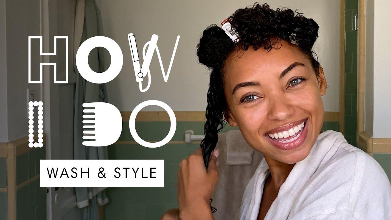 Logan Browning's Natural Curls Hair Tutorial | How I Do | Harper's BAZAAR