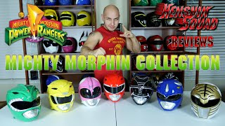 Mighty Morphin Helmet Collection!
