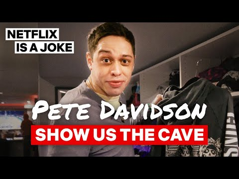 Pete Davidson Gives An Exclusive Tour Of His Basement Apartment | Netflix Is A Joke