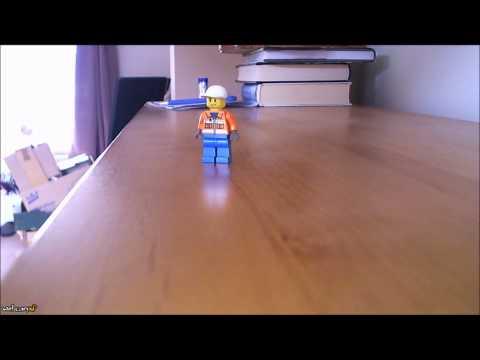 Walking Lego Man