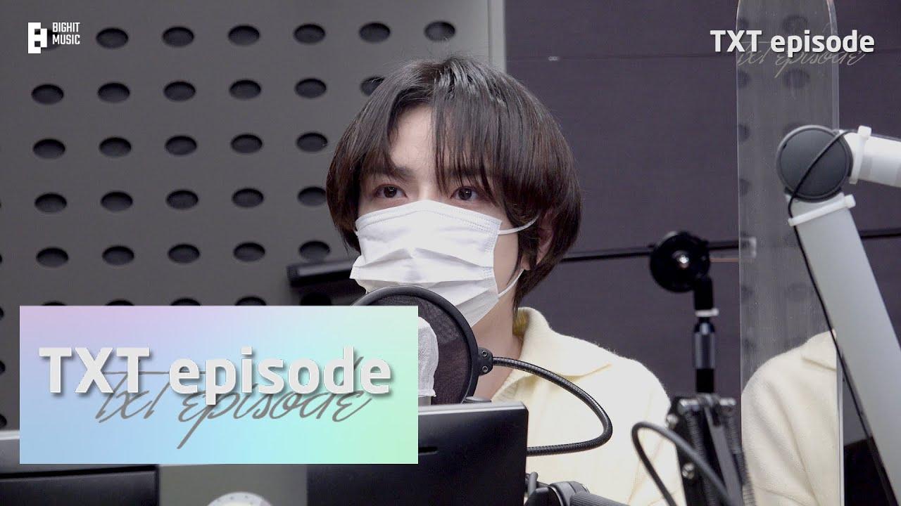 [EPISODE] BEOMGYU on Kiss the Radio Behind the Scenes - TXT (투모로우바이투게더)
