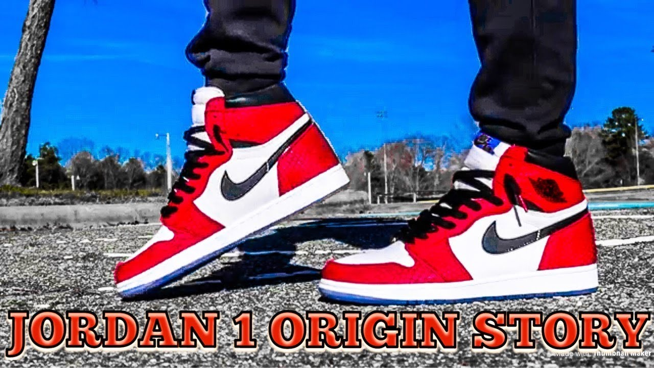 air jordan 1 origin story