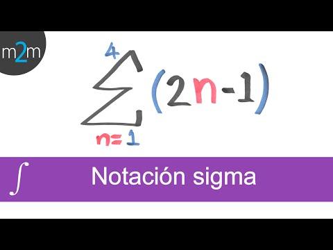 Notación sigma│ejercicios 1, 2 y 3