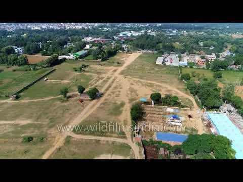 Fatehpur Beri - Bhati Village Barren Lands And Farm Houses Near Radha Soami Satsang Beas