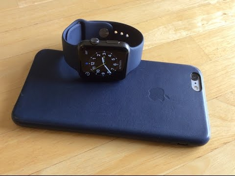 best service 72a84 857af iPhone 6/6s Leather Case - Midnight Blue UNBOXING