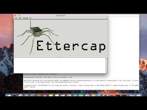 Build Ettercap from GitHub MacOSX